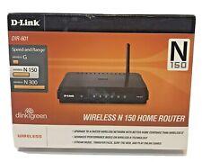 D-Link N150 Home 150 Mbps 4-Port 10/100 Wireless N Router DIR-601