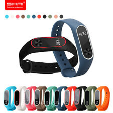 RED Original Silicon Wrist Strap Band Bracelet Replacement for XIAOMI MI Band 2