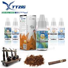Tabak Liquid E-Zigarette TTZIG eZigarette Liquid Tabakgeschmack 0 3 6 12 mg/ml