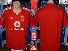 Cricket England Adidas 2008 Shirt Jersey Camiseta Maglietta Trikot