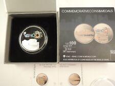 Israel 2009 Tel Aviv Centennial State Medal 50mm 49gr Silver + Box + COA #2
