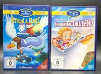 DVD: Sammlung BERNARD & BIANCA 1-2 (1 + 2) Känguruland Komplett Deutsch