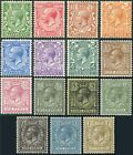 1912-22 Royal Cypher Sg 351-396 Unmounted Mint Single Stamps