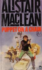 Puppet on a Chain - Alistair MacLean Audio Book MP 3 CD Unabridged 8 Hrs