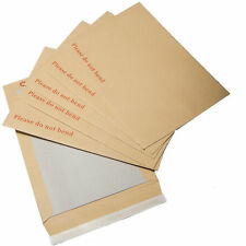 Please Do Not Bend Hard Card Board Backed Manilla Envelopes Brown A3 A4 A5 A6