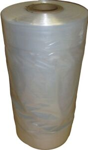 50 Polythene Garment bags Protectors Covers Dry cleaning BAGS 38''