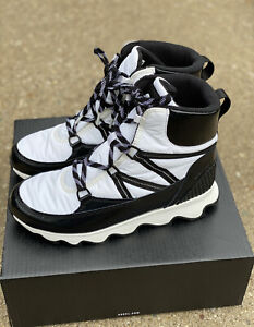 Sorel Kinetic Sport Boot White Size 11 Women's Lace Up