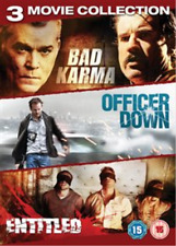 Ray Liotta, Dominic Purcell-Bad Karma/The Entitled/Officer Down  DVD NEW
