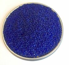 2.5 LBS of Industry Standard Blue Bead Indicating Silica Gel Desiccant and De...