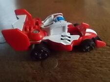 VINTAGE 2003 BANDAI Transformers MOTOR RACING AUTO 3.25 POLLICI a Molla in buonissima condizione