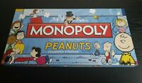 Monopoly Peanuts Collector's Edition Very Rare Board Game 100% Complete