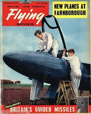 RAF FLYING REVIEW SEP 55: BRITISH MISSILES REPORT/JET PROVOST CUTAWAY/ CF-100