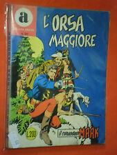 COMANDANTE MARK COLLANA ARALDO-DA LIRE 200 N°31 ORIGINALE CON LA- A-1967 BONELLI