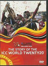 THE STORY OF THE ICC WORLD TWENTY20 T20 SRI LANKA 2012 REVIEW CRICKET DVD 20 20
