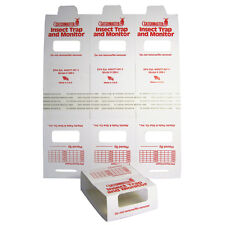 Catchmaster 288i Spider & Insect Glue Traps, Non-toxic Pest Control - 72 traps!