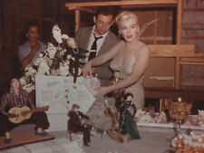Yves Montand and Marilyn Monroe UNSIGNED photo - L9701 - Let's Make Love