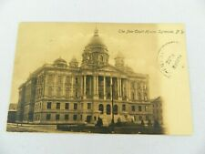 Vintage Postcard 1907 The New Court House, Syracuse, N.Y.