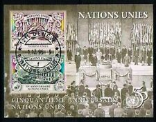 Nations Unies geneve 1995 Mi Bloc B7 Mnh**  50ieme anniversaires nations unies
