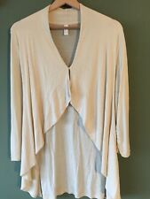 VERO MODA - Cream Cotton Waterfall Style Cardigan - Size M