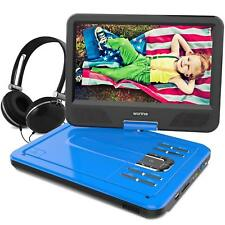 WONNIE 10.5 Inch Portable DVD Player for Car, with Rechargeable Battery, Swivel