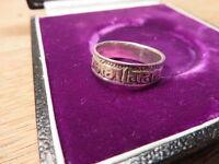 Toller 925 Silber Ring Sterling Designer Symbole Euro € Zeichen Uniesx Modern 1A