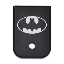 Magazine Gun Base Butt Floor Cover Plate fits Glock 9mm .40 .357 .45Gap - Batman