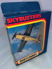 Matchbox Skybusters SB19 Piper Comanche Airplane Boxed 1992