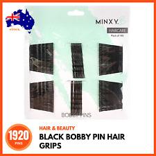 1920 x BLACK HAIR PINS GRIPS BOBBY PINS CLIPS Invisible Hair Pins Hair Styling