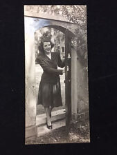 1944 YOUNG WOMAN PHOTO, GEORGETOWN VISITATION CONVENT, B&W GLOSSY