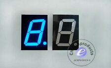 5pcs 4 inch 7segment LED display common anode Blue 12V CPS40011DB1  40011