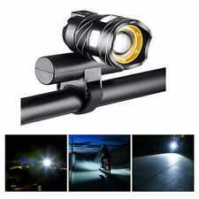 LED Headlight Front Light USB Rechargeable 15000lm Xm-l T6 LED Lamp Bike Bicycle