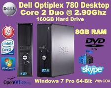 Computer desktop con hard disk da 160GB RAM 8GB