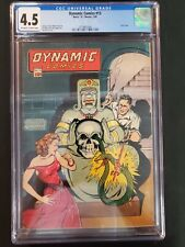 Dynamic Comics #13 Chesler 1945 CGC 4.5 Off White to White Pages Comics Book