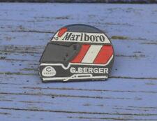 Pin's casque Gerhardt Berger Marlboro, début des années 1990