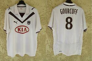 Maillot GIRONDINS DE BORDEAUX Champion 2009 GOURCUFF PUMA vintage away shirt XL