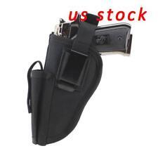 US STOCK Right Left Hand Gun Pistol Holster & Mag Slot Holder Waist Holster