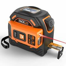 Laser Tape Measure 2-in-1, Laser Measure 131 Ft, Tape Measure 16 Ft Metric and I