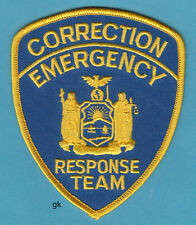 ERT EMERGENCY RESPONSE TEAM CORRECTION  NEW YORK STATE POLICE SHOULDER  PATCH