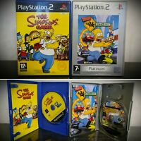 Playstation 2 The Simpsons Hit & Run & Simpsons Game bundle PS2 Sony Retro Fox