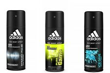 3x ADIDAS Deodorant 24h FRESH Power MEN Deo Body Spray Assorted 4 oz 113 ml Each