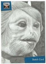 The Lost Worlds of Gerry Anderson Sketch C 00004000 ard drawn by Westley Smith [ B ]