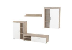 Wall Unit Wohnwänd Wood Wardrobe Fernsehwand Living Room Rtv Shelf Stands