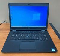 Dell Latitude E5470 Ultrabook Core i5-6440HQ 2.6Ghz 8GB New 256GB SSD HD Win 10