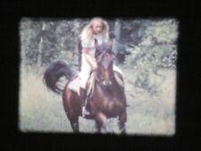 Film Super 8 mm : Les Ecuries , Chevaux et Nature     adulte  éroti'x