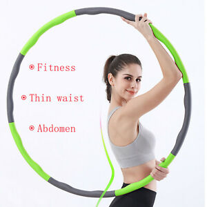 Sports Hula Hoop Fitness Weight Gym Exercise Smooth Circle Massage Adults Hoop