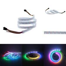 3.2FT 60LED/M 5V WS2813 Dual data New WS2812B 5050 RGB LED Strip SMD IP67 White