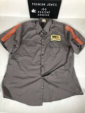 Vintage Waste Management Shirt With Reflective  3M Panels Size L