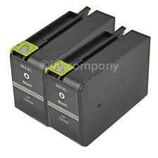 2 For HP 932 XL black Officejet 6100 Eprinter 6700 Premium 6600 E All-In-One