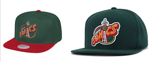Mitchell & Ness Seattle Sonics SuperSonics Snap Back HaT CAP