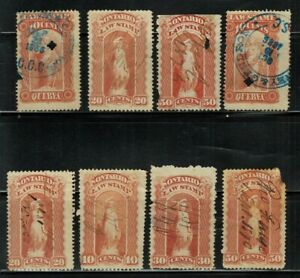 Canada Local Law Stamps Used